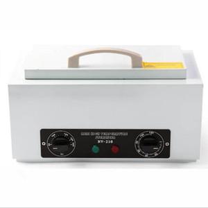 Stérilisateur à haute température NV-210 pour la désinfection à l'air chaud avec l'outil de ciseaux de manucure de beauté avec la boîte UV amovible de serviette en acier inoxydable