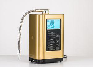 Yeni Alkali Su Ionizer, Su Ionizer Makinesi, Ekran Sıcaklığı Akıllı Ses Sistemi 110-240 V 3 Renkler