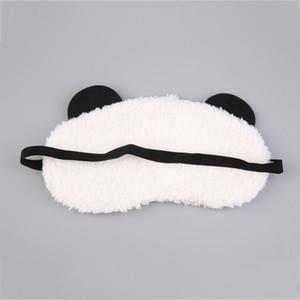 Cute Panda Sleeping Eye Mask Face Mask 눈가리개 아이섀도 4 패턴 Eyhask White Cotton + 고무 밴드 2017 핫 세일