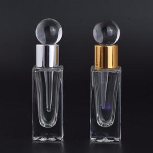 Yeni Moda 7 ml Parfüm Şişesi Damla Cam Mini Seyahat Boş Kozmetik Kapları hızlı kargo F20172584