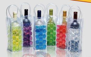 Gel Wine Bottle Chill Coolers Ice Bag-Freezer Bag- Vodka- Tequila Chiller- Cooler- Carrier