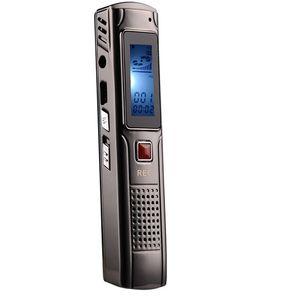 مصغرة مسجل صوت رقمي 4GB 8GB الصلب تسجيل ستيريو مسجل الصوت مشغل MP3 مع دعم سماعات في مربع البيع بالتجزئة