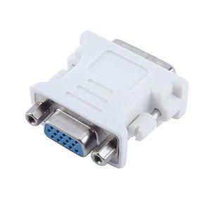 Adattatore per convertitore video LCD per scheda video VGA SVGA femmina da 15 pin a 15 pin maschio DVI-I