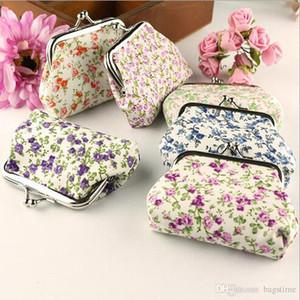 Yüksek Kalite Kadınlar Moda Dalga Şerit Para Toka Çanta Küçük Çiçek Güzel Kız Paraları Çanta Cüzdan