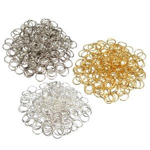 أفضل سعر الجملة diy مجوهرات العثور 300 قطع 3 ألوان مزيج المعادن القفز 0.7x8 ملليمتر حلقات مكونات ووتش أداة إصلاح