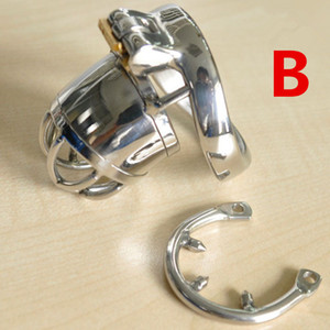 Chastity BDSM Chastity Device Men G198 Anti Andred Cup Cage New Sex Male для пениса из нержавеющей стали из нержавеющей стали Кольцо Toys Cage Colkring Penis Ring o SMCS