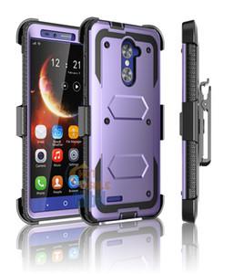 Крышка зажим для ремня кобура противоударный прочный гибридный чехол стенд крышка зажим для ремня кобура для ZTE Zmax Pro мобильный телефон защитный чехол для сотового телефона