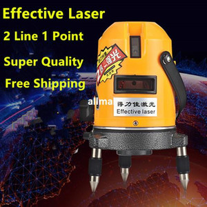 Freeshipping New Professional 2lines laser level 360 rotary cross laser line leveling se puede utilizar con un receptor para exteriores