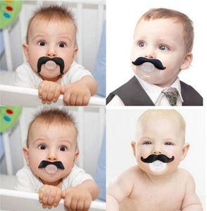 Sıcak bebek emzik komik emzik Sevimli Diş Bıyık Erkek Bebek Kız Bebek Emzik Ortodonti Kukla Sakal Nipeller Emzikler güvenli
