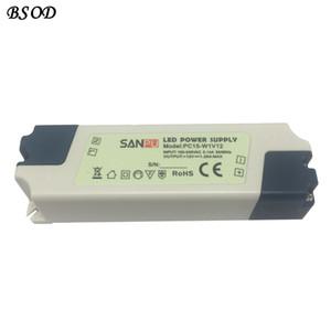 SANPU LED Alimentation 12V 15W Tension unique, sortie unique, utilisation en intérieur IP44 en plastique Shell de petite taille PC15-W1V12