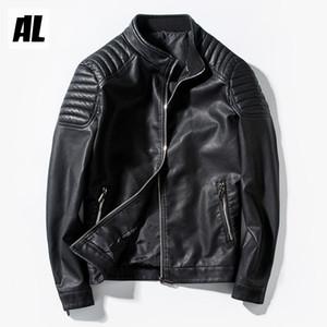 2017 высокое качество мотоцикл человек кожа мотоцикл байкер куртка пальто мото езда pu повседневная куртка зимняя мода мальчики