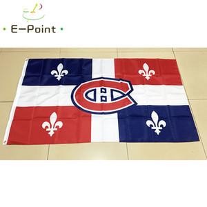 Flag of Canadá Montreal Canadians 3 * 5 pés (90 centímetros * 150 centímetros) de poliéster bandeira bandeira americana decoração voando horta bandeira