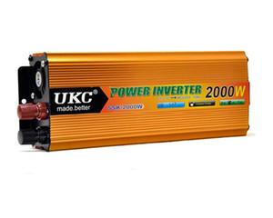 24V convertisseur 220V2000W voiture inverseur / onduleur / panneau solaire peut être connecté
