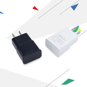 Carregador de parede USB 5V 2A N7100 para iPhone Samsung Viagens Home Chargers Adaptador UE Plug No Logotipo