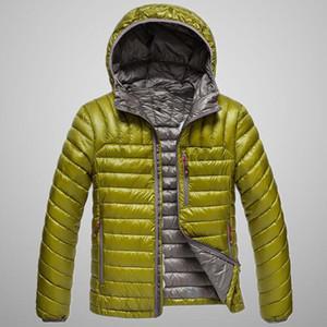 Nova jaqueta masculina de inverno nova jaqueta fina e leve para baixo casaco fino M-XXXXXL navio livre