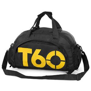 T60 방수 다기능 체육관 요가 손 어깨 가방 스포츠 교육 신발 가방 농구 가방 핸드백 야외 여행 더플 가방 토토