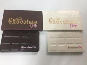 2017 paleta De Chocolate Chip de sombra 11 cores Faced Sombra de Olho Branco Preto Paleta De Chocolate de Alta Qualidade DHL livre