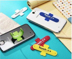Alta qualidade mini adorável toque de silicone u suporte do telefone móvel para iphone 5 4s samsung telefones celulares
