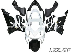 weiß schwarz für Honda CBR600 F4i 2001-2003 2002 CBR600F4i 2001 2002 2003 CBR600F4i 01 02 03 Verkleidungskits # 4w7m1 Spritzverkleidungen