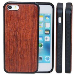 Date personnalisé cas en bois pour iphone 5 5s SE 6 6 s plus 7 8 X 10 en bois en bambou avec TPU souple couverture de protection téléphone cas pour Samsung S9 S8