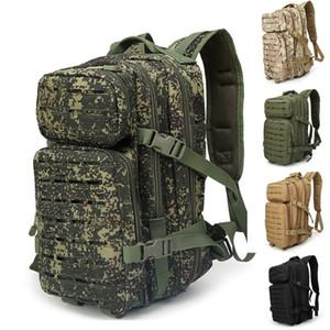 Лазерная резка новый дизайн MOLLE 3P открытый камуфляж тактика, армия тактический рюкзак, пешие прогулки рюкзак, Рыбалка мешок