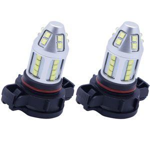 Kalite araba led ışıkları H16US / PSX24W 30led 2835smd xenon beyaz için bmw audi honda vw mazda benz.