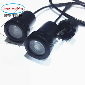 2pcs LED Porta di cortesia luce di cortesia led proiettore laser auto Logo Ghost Shadow Light per audi per Toyota per Chevrole Spie luminose