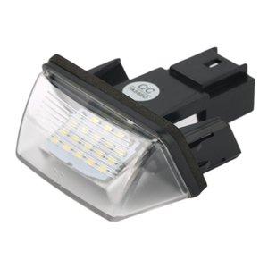 12V 18 LEDs LICENSE NUMBER PLATE LIGHT Bulbs FOR 206 207 306 C3 C4 5 XSARA