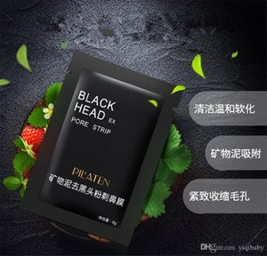 PILATEN Facial Minerals Conk Nariz Blackhead Remover Mask Máscara facial Nariz Blackhead Cleaner 6g / pcsacial Máscara Eliminar Black Head