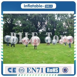 Aufblasbare Stoßkugel des beiläufigen Fußballspiels der hohen Quelity Aufblasbarer menschlicher Hamster-Ball 0.8mm PVC 1,5 M außerhalb der Spielzeugkugeln