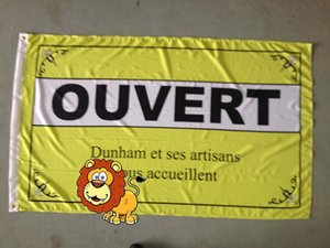 ouvert flag ,ouvert banner, 90X150CM size,100% polyster 100% polyester 90*150cm