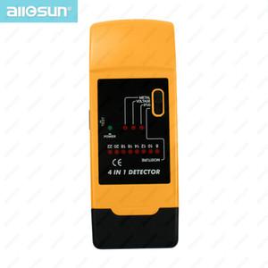 Handheld Wall Scanner AC Stud Finder Metal Detector Wood Paper Moisture Measuring 4 in 1 All Sun TS69