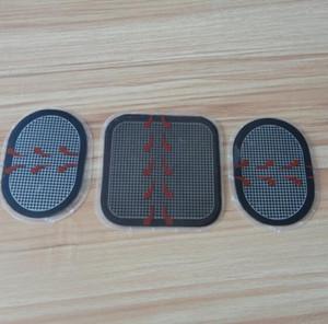Sostituzione di cuscinetti di gel cintura dimagrante per cintura Ab Flex cintura di tonificazione addominale Pro System 3pcs / set spedizione gratuita