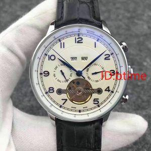 Мода Winner черный кожаный ремешок из нержавеющей стали Скелет механические автоматические часы для Man Gold WristWatch Relogio Мужчина для
