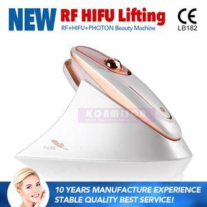 آلة Hifu المحمولة مع العلاج بالضوء RF LED لشد الوجه HIFU استخدام المنزل تشديد الجلد HIFU البسيطة