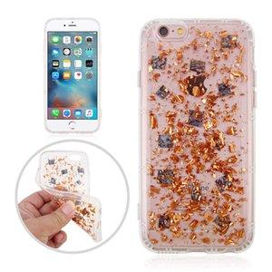 Anti Gravity Bling Foil Glitter Case Tecnología Nano Grip Magic Suction Cover para iPhone X 8 7 6 6S Plus 5 5S Sumsung S8 S7 Edge Plus