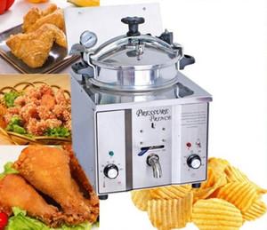 Friteuse de pression de poulet de 16L KFC; Friteuse profonde de poulet de pression LLFA