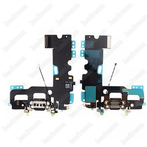 30 STÜCKE Neue USB Dock Connector Ladeanschluss Ladegerät Flex Kabel für iPhone 7 Plus freies DHL