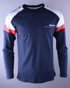 2017 T-shirt lunga casual da moto PER BMW S1000RR doppia T-shirt lunga cotone Moto GP Monza