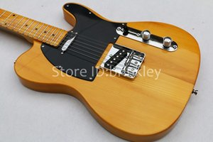 Free shipping American Vintage 52 aged electric guitar,Natural guitar,Maple body and headstock guitar,OEM