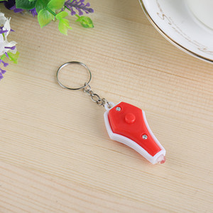 Hand pinch mini vase led purple photo-checking lamp key fodge checker hot selling small goods wholesale gifts