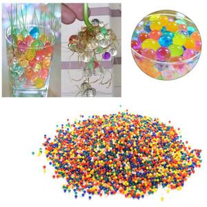 Al por mayor-1000pcs Bolas de agua Crystal Pearls Jelly Gel Bead para Orbeez Toy Refill Color GG