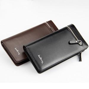 Nuovi uomini famosi del progettista di arrivo Baellerry Wallets Boy's Clutch Wallet Case Clutch Porta carte di credito Portafogli da uomo