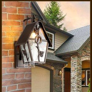 lampade esterne led luce camera da letto parete esterna villa giardino lampada da parete bar coffeshop applique lampada per ufficio lavoro lettura libri in studio luci