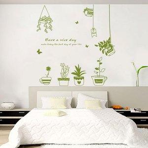 Vendita all'ingrosso Cheap Nature Design Cartoon rimovibile Wall Sticker Decal Modern Art per i bambini vivaio soggiorno