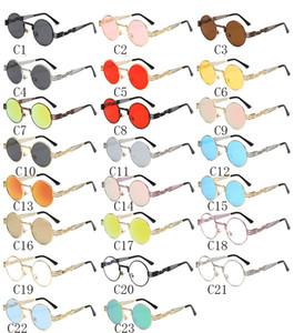 Round Sonnenbrille europäischen und amerikanischen Persönlichkeit männlich und weiblich polarisierten Sonnenbrillen Runde Box Trend Sonnenbrille Brille