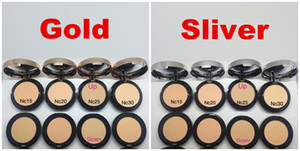 New Arrival Hot brand Makeup Two Powder Double Powder Blush Gold Sliver Good Quality DHL In Stock