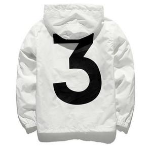 Nouveau anorak crème solaire veste coupe-vent streetwear hip hop kanye vent ouest disjoncteur jaqueta masculina marque noir vêtements