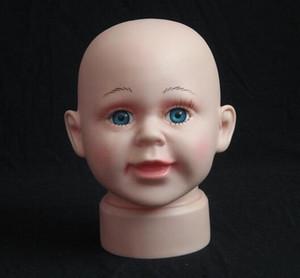 Freeshipping 1 PC moda peruca chapéu mannequin manequim, peruca para manequim cabeça do bebê para venda boneca, M00501