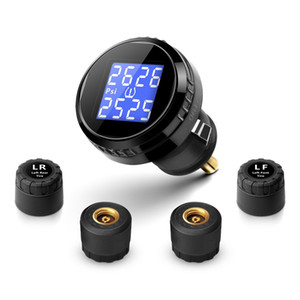 CarBest car Wireless Tire Pressure Monitoring System TPMS with 4 External Sensors